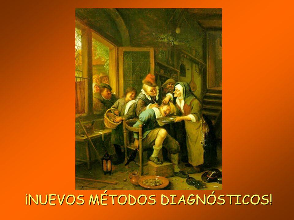 ¡NUEVOS MÉTODOS DIAGNÓSTICOS!