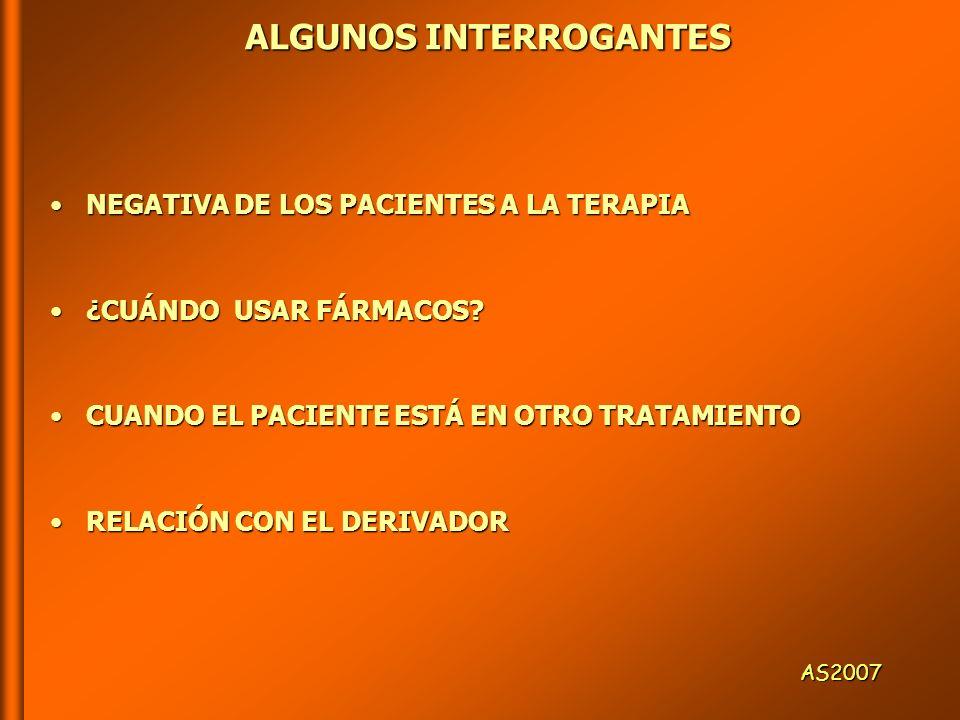 ALGUNOS INTERROGANTES