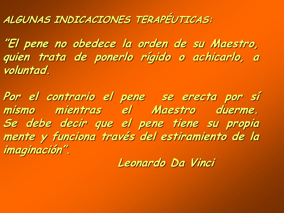 ALGUNAS INDICACIONES TERAPÉUTICAS:
