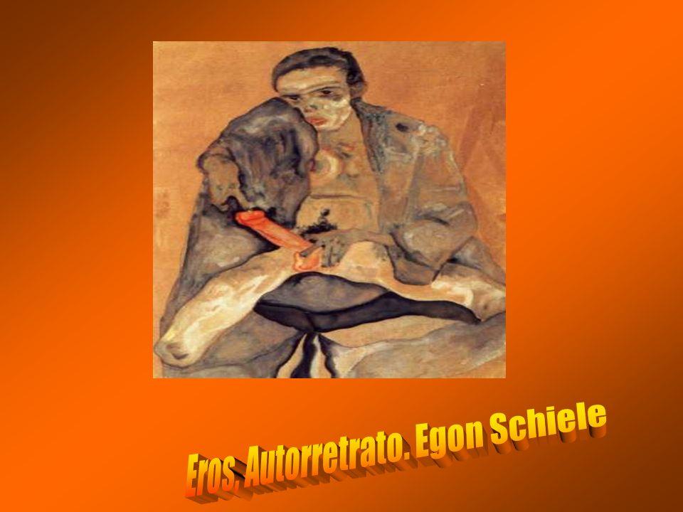 Eros, Autorretrato. Egon Schiele