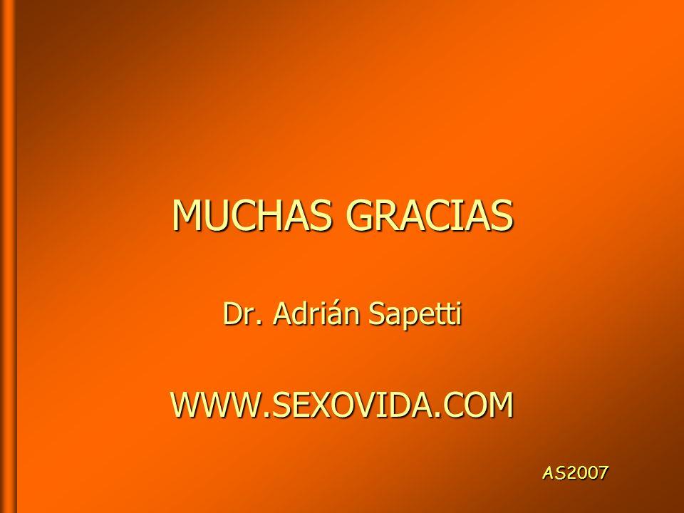 Dr. Adrián Sapetti WWW.SEXOVIDA.COM