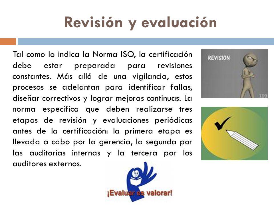 Revisión y evaluación