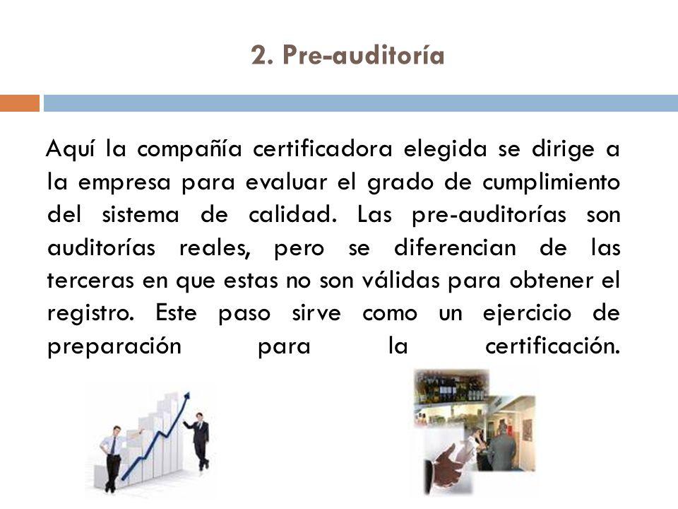 2. Pre-auditoría