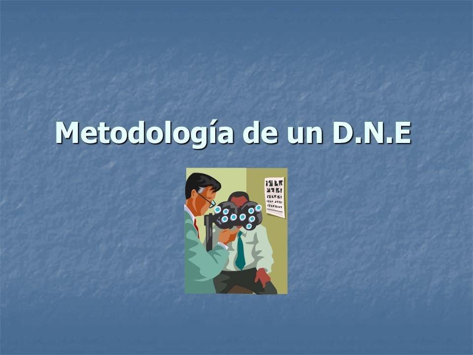 Metodología de un D.N.E