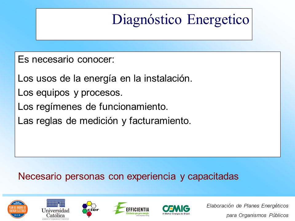 Diagnóstico Energetico