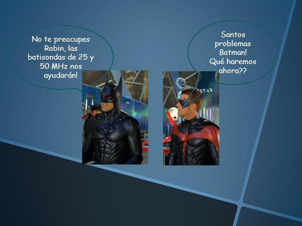Santos problemas Batman!