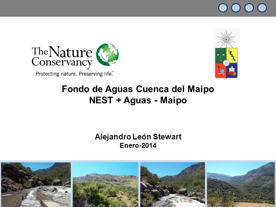 Fondo de Aguas Cuenca del Maipo Alejandro León Stewart