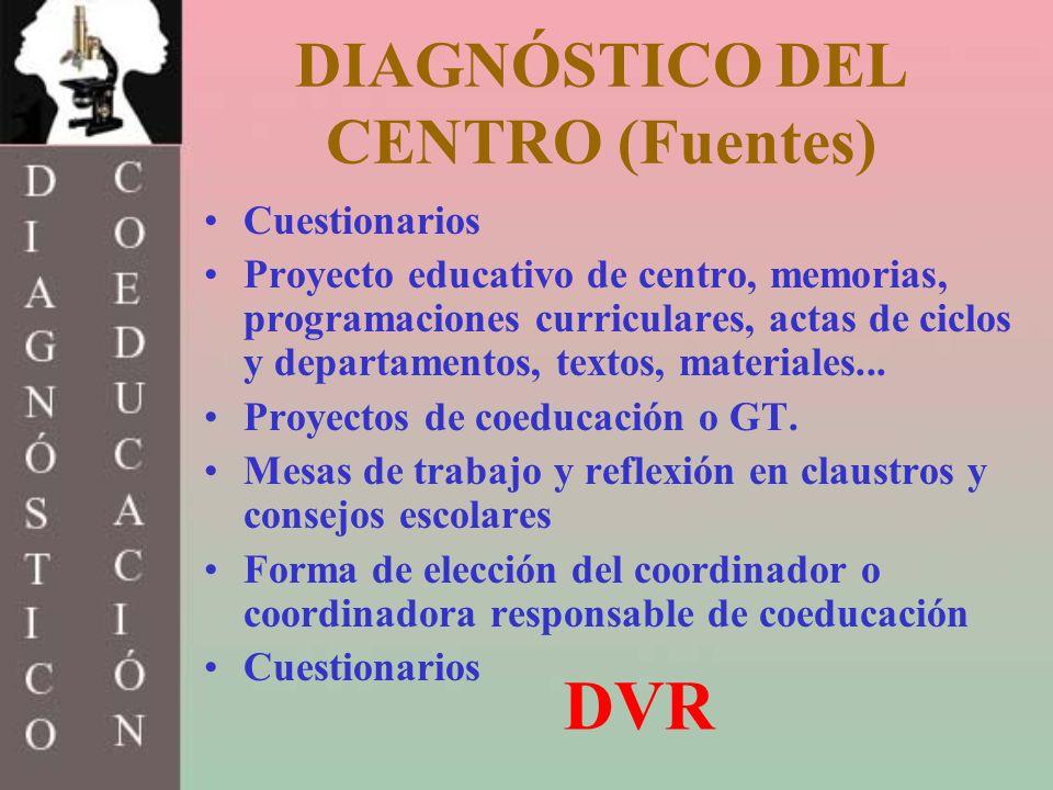 DIAGNÓSTICO DEL CENTRO (Fuentes)