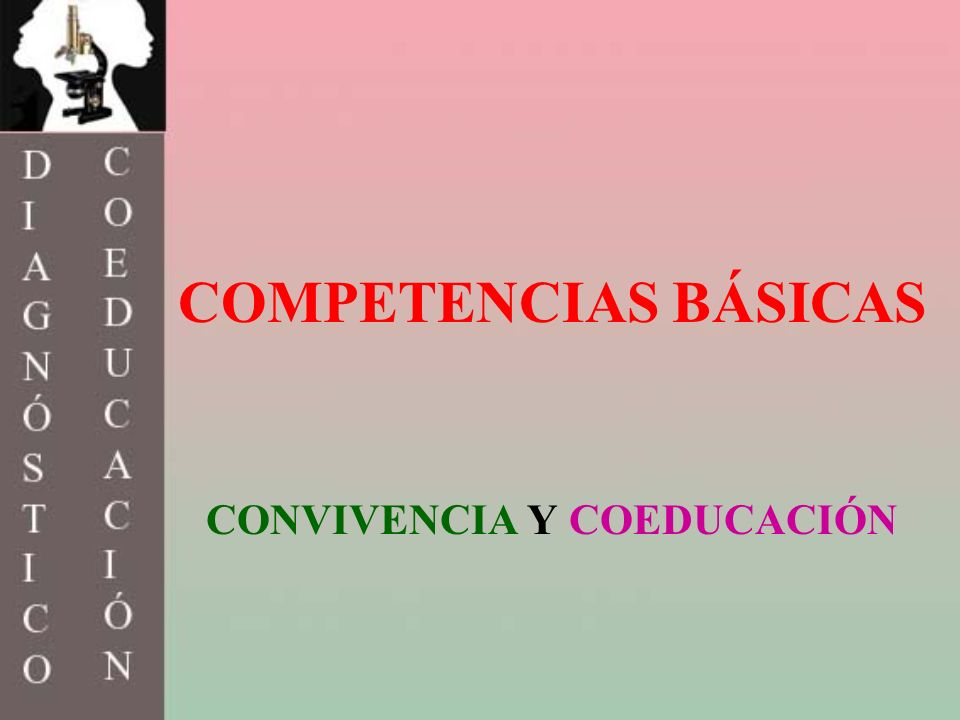 CONVIVENCIA Y COEDUCACIÓN