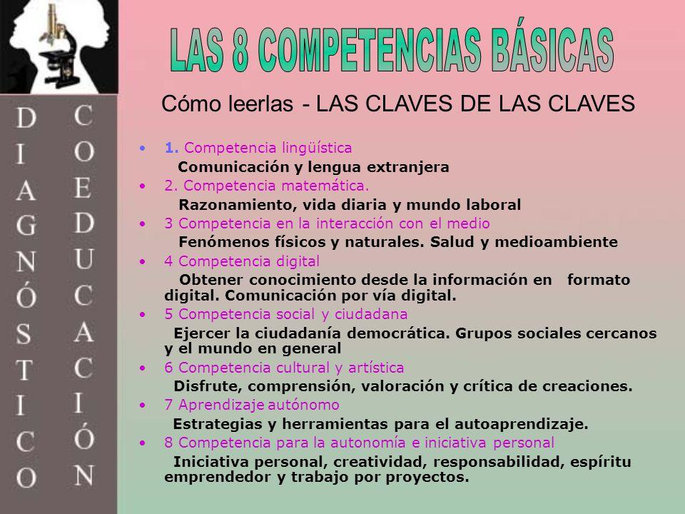 LAS 8 COMPETENCIAS BÁSICAS