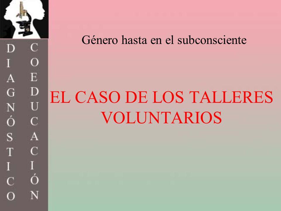 EL CASO DE LOS TALLERES VOLUNTARIOS