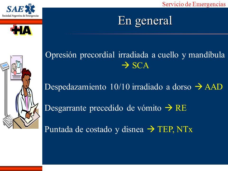 Opresión precordial irradiada a cuello y mandíbula  SCA