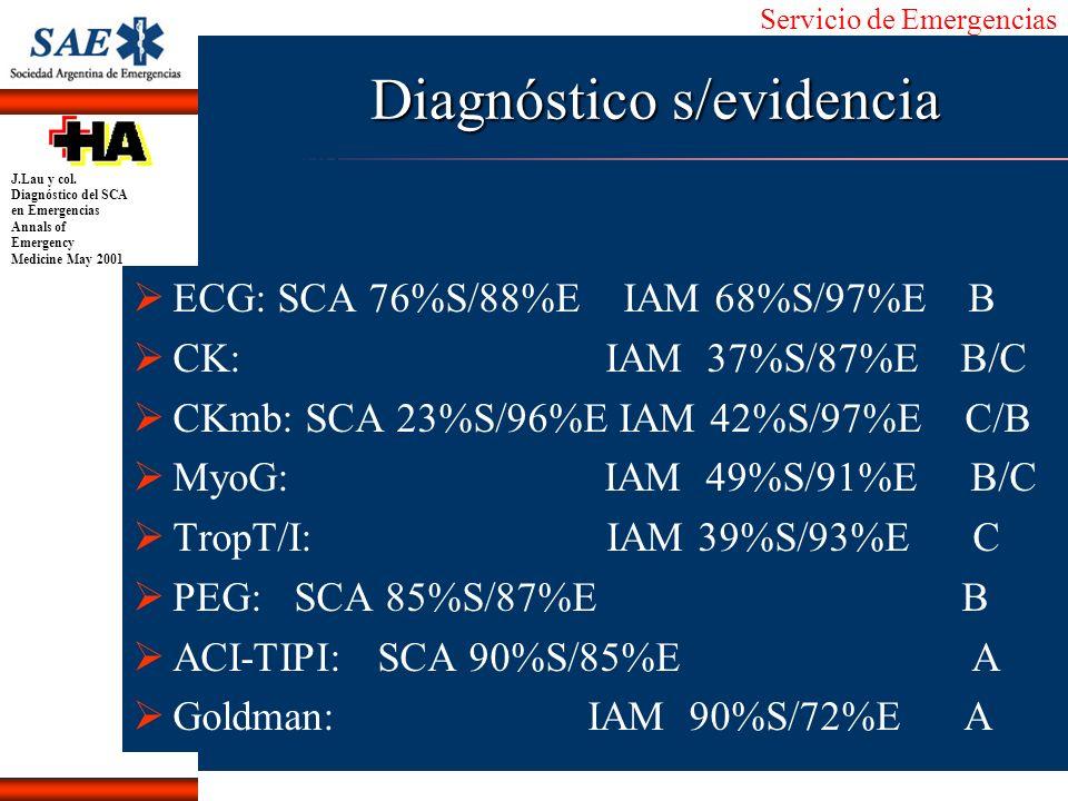 Diagnóstico s/evidencia