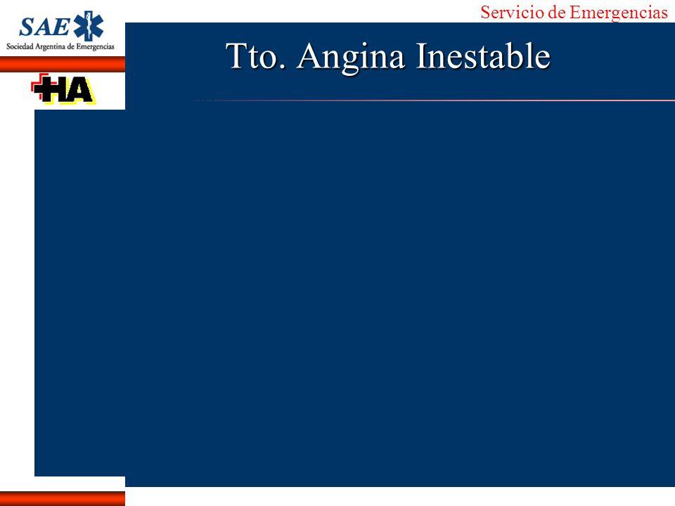 Tto. Angina Inestable