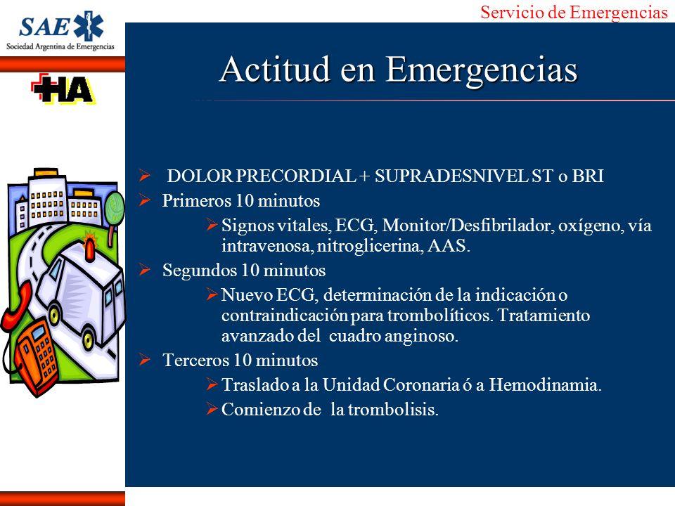 Actitud en Emergencias