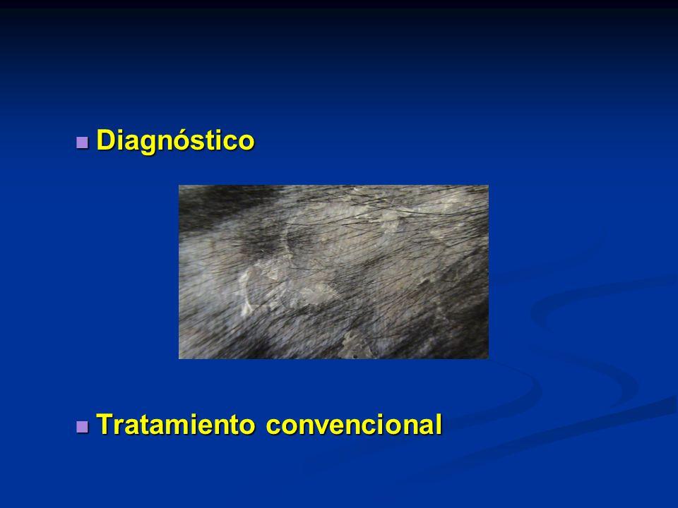 Diagnóstico Tratamiento convencional