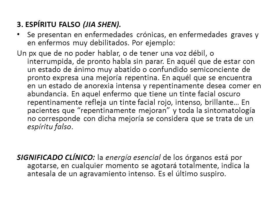 3. ESPÍRITU FALSO (JIA SHEN).