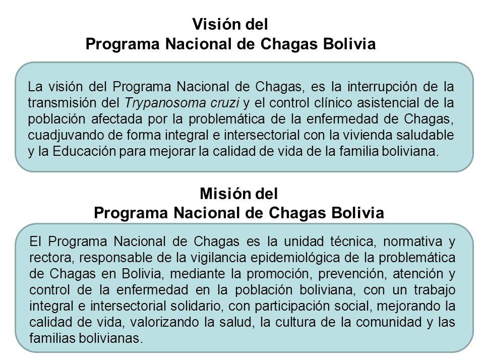 Misión del Programa Nacional de Chagas Bolivia