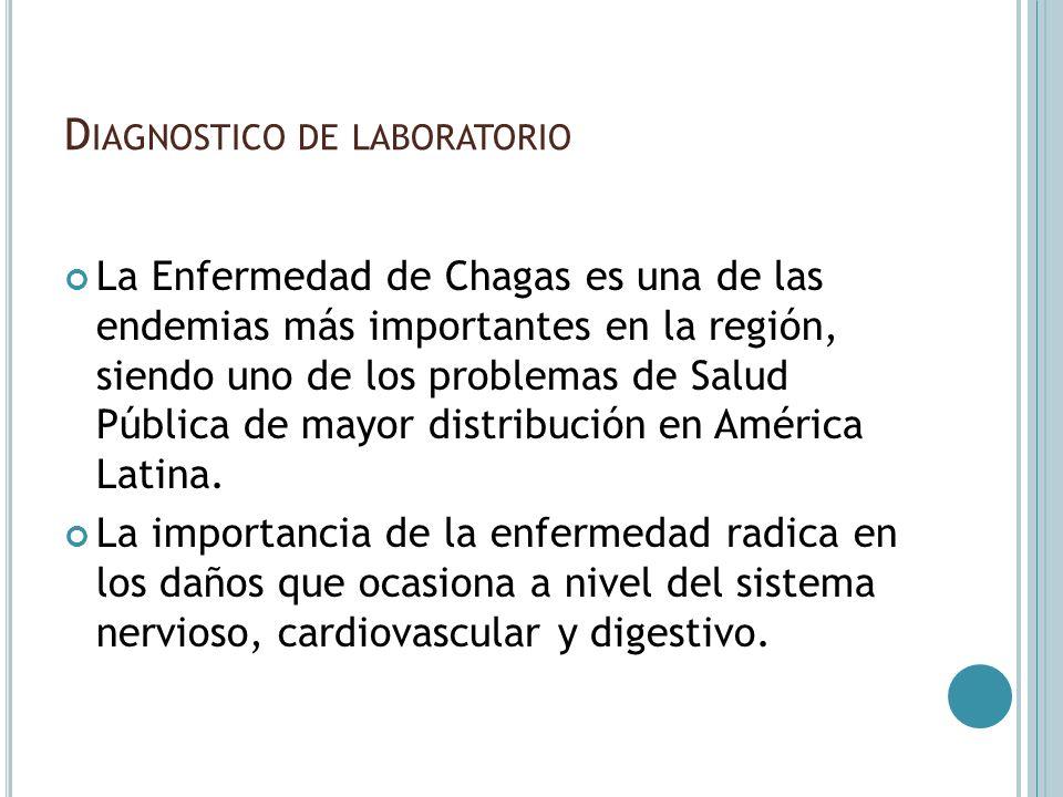 Diagnostico de laboratorio