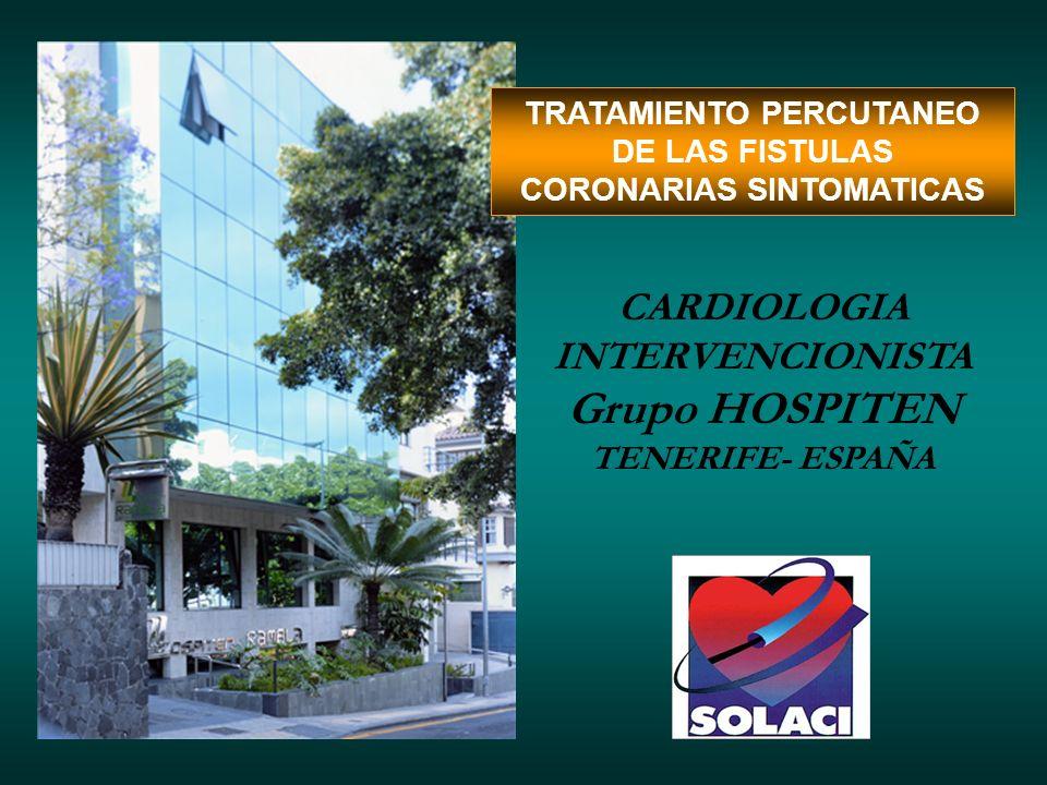 Grupo HOSPITEN CARDIOLOGIA INTERVENCIONISTA TENERIFE- ESPAÑA