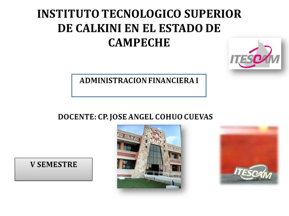 INSTITUTO TECNOLOGICO SUPERIOR DE CALKINI EN EL ESTADO DE CAMPECHE
