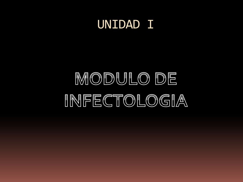 MODULO DE INFECTOLOGIA