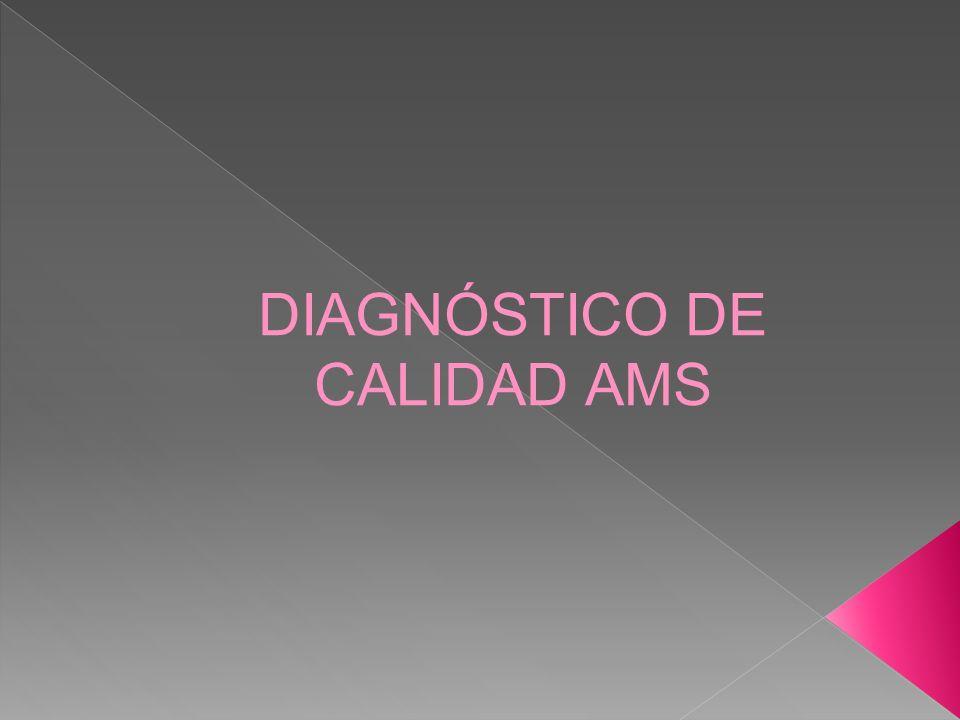 DIAGNÓSTICO DE CALIDAD AMS