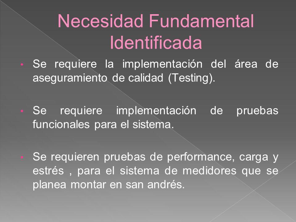 Necesidad Fundamental Identificada