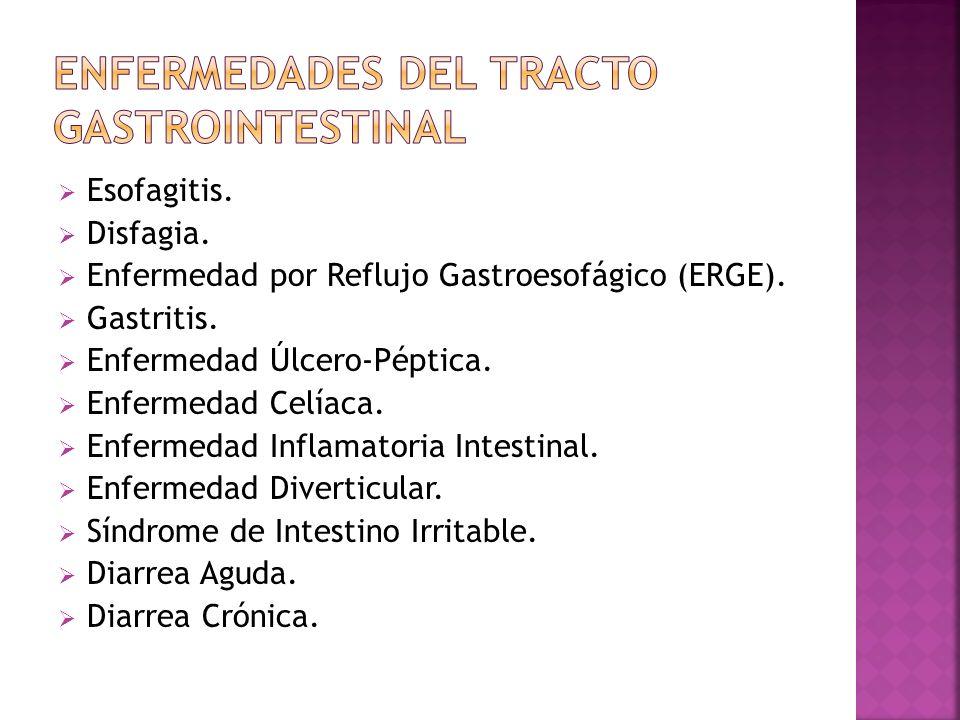 Enfermedades del Tracto Gastrointestinal