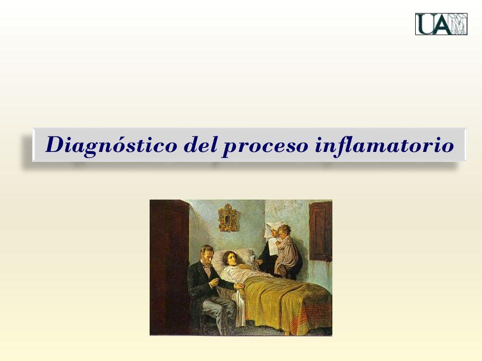 Diagnóstico del proceso inflamatorio