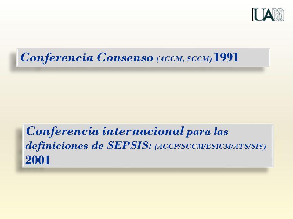 Conferencia Consenso (ACCM, SCCM) 1991