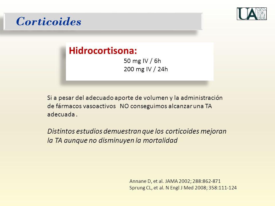 Corticoides Hidrocortisona: