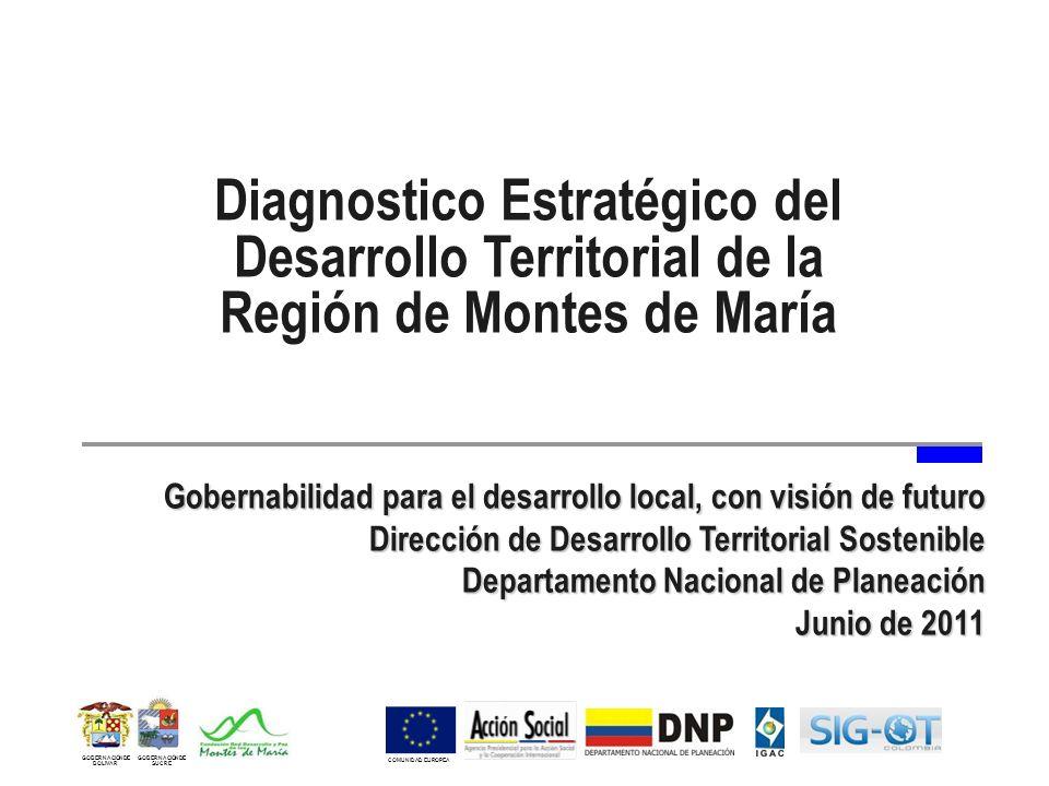 Diagnostico Estratégico del Desarrollo Territorial de la