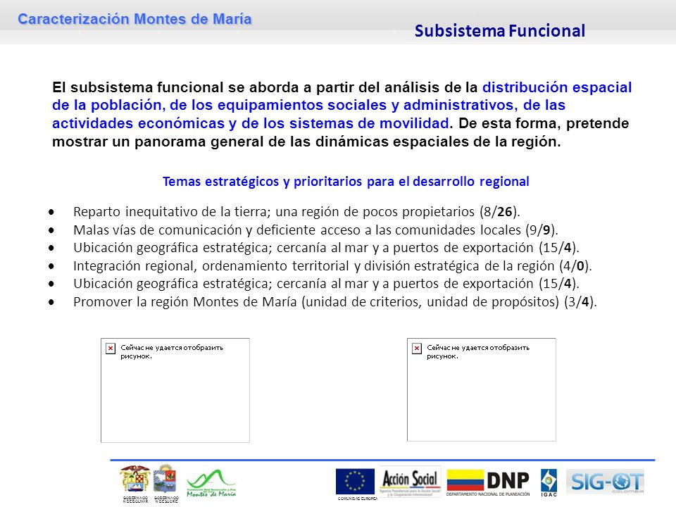Temas estratégicos y prioritarios para el desarrollo regional