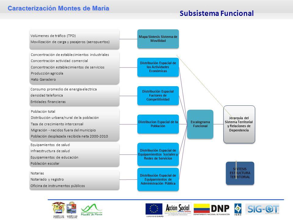Subsistema Funcional Volúmenes de tráfico (TPD)