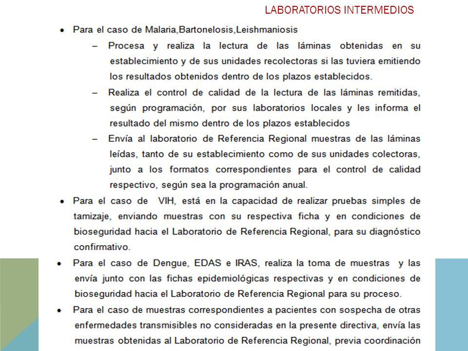 LABORATORIOS INTERMEDIOS