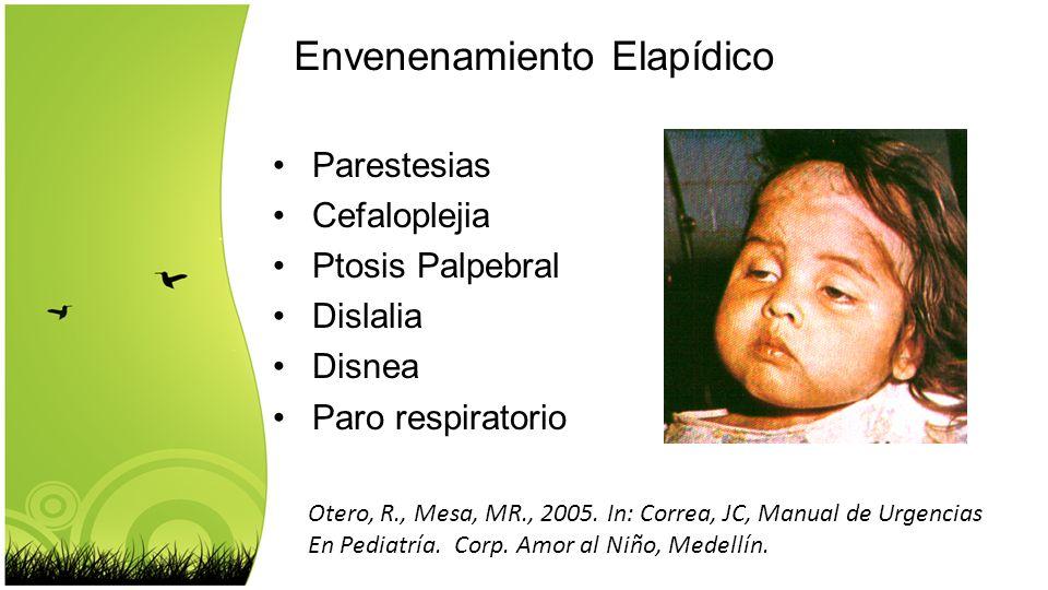 Envenenamiento Elapídico