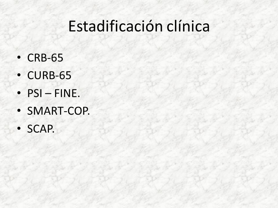 Estadificación clínica