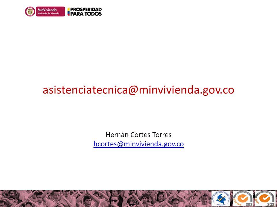 asistenciatecnica@minvivienda. gov
