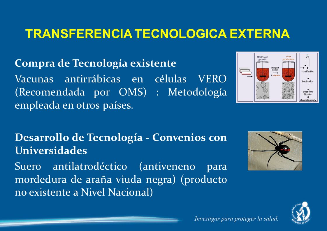 TRANSFERENCIA TECNOLOGICA EXTERNA