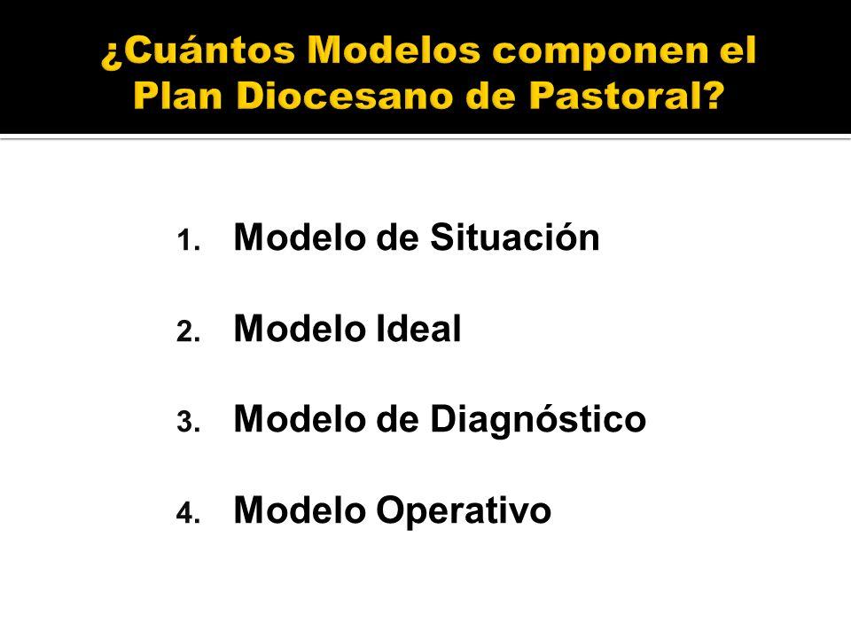 ¿Cuántos Modelos componen el Plan Diocesano de Pastoral