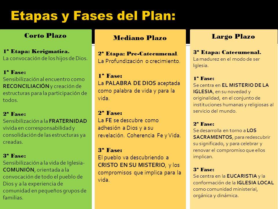 Etapas y Fases del Plan: