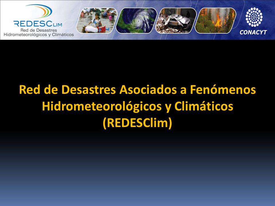 Red de Desastres Asociados a Fenómenos