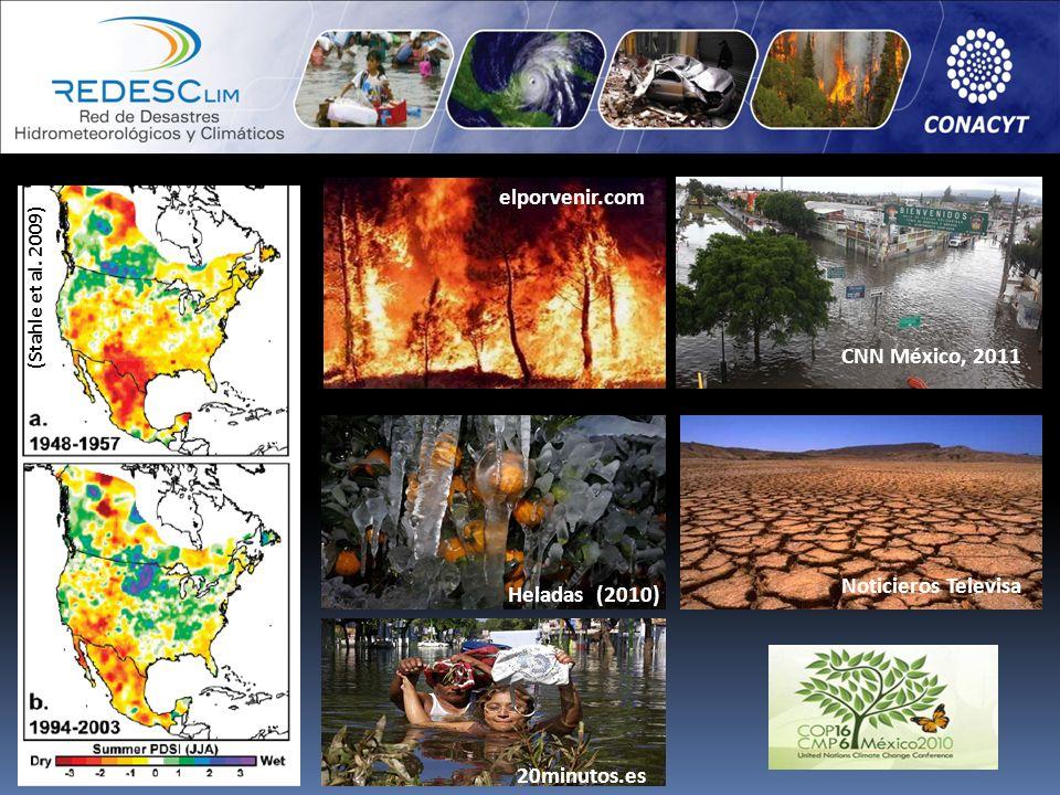 elporvenir.com CNN México, 2011 Noticieros Televisa Heladas (2010)