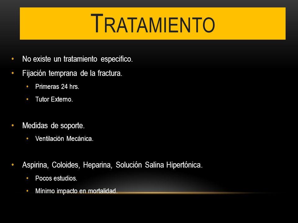 Tratamiento No existe un tratamiento especifico.