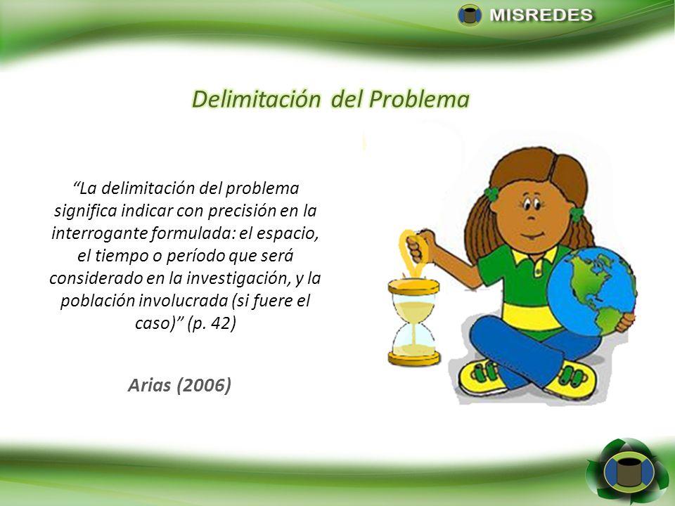 Delimitación del Problema
