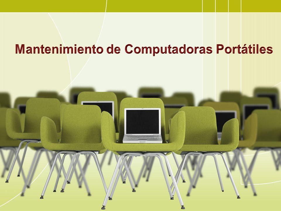 Mantenimiento de Computadoras Portátiles
