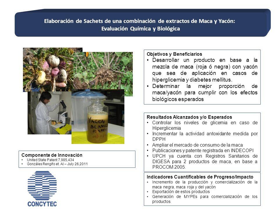 Evaluación Química y Biológica