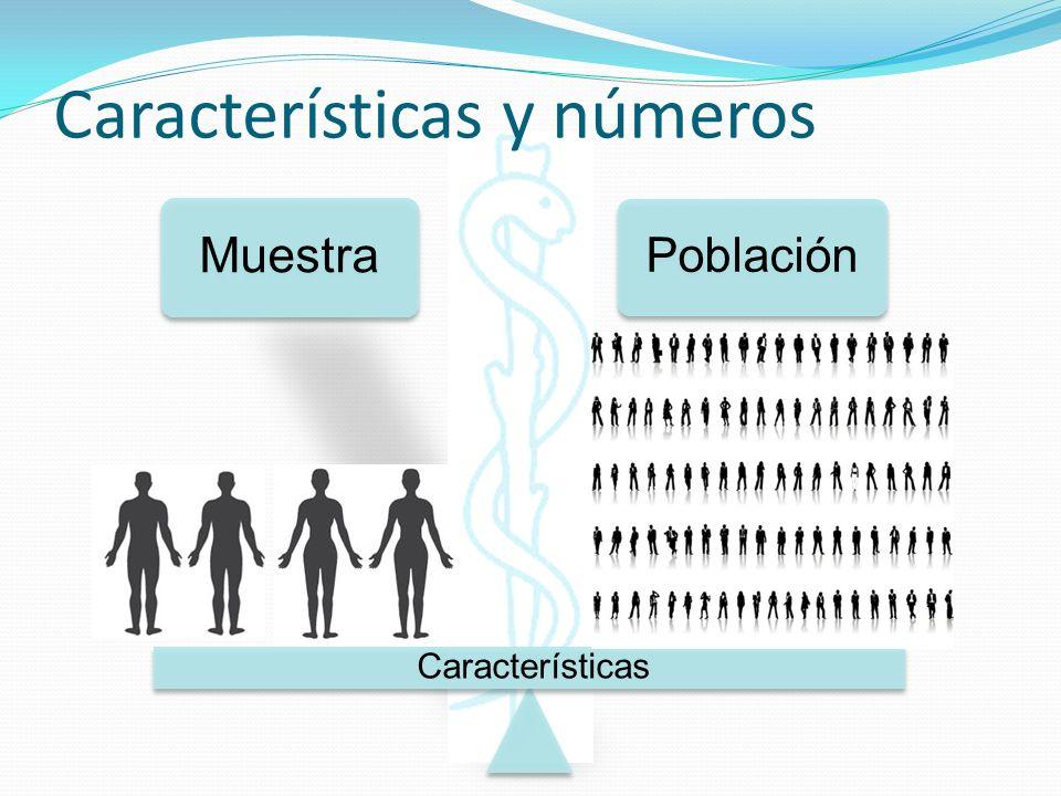 Características y números