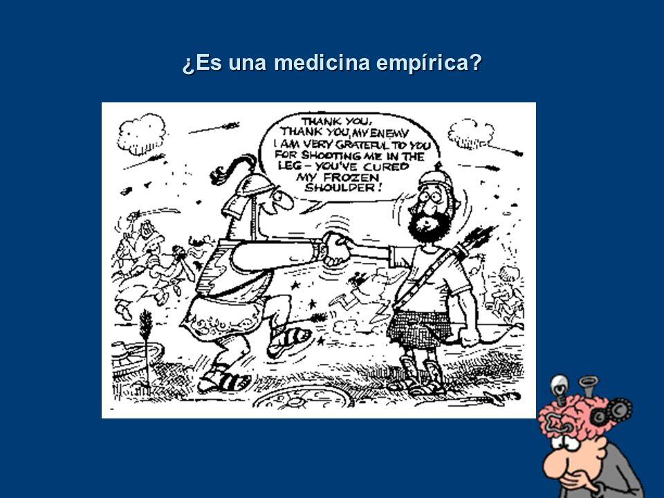 ¿Es una medicina empírica